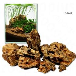 Dragesten - Ohko Rock - 80 cm sæt: 11 natursten, ca. 5 - 5,6 kg
