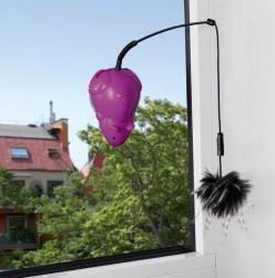 Drillemus til at sætte fast på vinduet