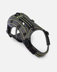 EQDOG New Pro Harness - Grå med refleks, Medium