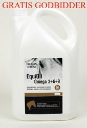 EQUIOIL OMEGA 3+6+9 - incl. pumpe