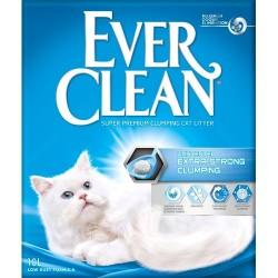 Ever Clean Extra Strength Unscented, klumpende kattegrus - 10 Liter