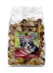 Faunakram 300 g, 3 color, 6 shapes Dog Biscuit Mix