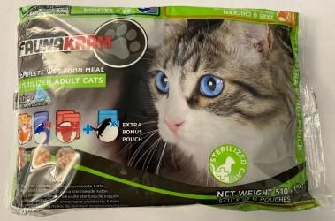 Faunakram 5+1 valuepack vådfoder for steriliserede katte