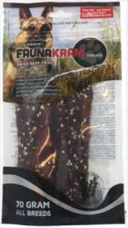 Faunakram Dog Snack, 70 g oksefilet, 85% real meat - GLUTENFRI