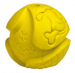 Faunakram gummilegetøj bold
