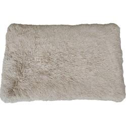 Fluffy tynd pude, fv. Beige