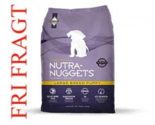 FRAGTSKADE Nutra-Nuggets Large Breed Puppy - 15 kg BEMÆRK: FRAGTSKADE, MEN INDHOLD HELT OK
