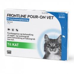 Frontline Pour-on Vet til katte - 4 stk. pipetter