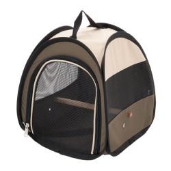 Fugletransporttaske Free-Fly af nylon - L 28 x B 28 x H 31 cm