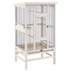 Fuglevoliere Bella Casa - Str. L: L 131,5 x B 67 x H 153 cm (2 pakker*)