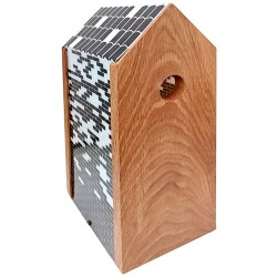 Gardenlife fuglekasse - Bricks - Eg