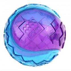 GiGwi Ball med piv - Ø 7 cm - kan flyde