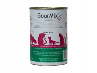 GourMix - oksekød, 400 g til katte