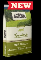 Grasslands Cat Acana 4,5 kg - M/GRATIS OVERRASKELSE