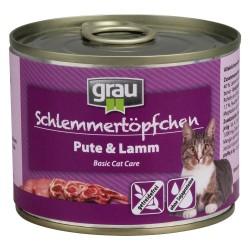 grau Grydeguf Kornfrit 6 x 200 g - Kylling & kalkunhjerter