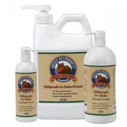Grizzly Vildlakseolie fra Alaska, 250 ml
