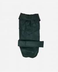 Grøn vandafvisende voks jakke fra Fashion Dog (art.112), 33cm