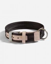 Halsbånd i nylon (Choco) - Riva - Fl. størrelser, Medium