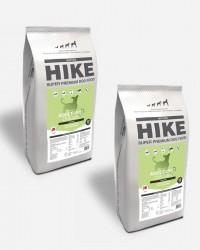 HIKE Kylling - Kornfrit og Dansk, 2x12kg