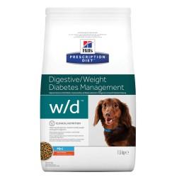 Hill's Prescription Diet w/d Digestive/Weight/Diabetes Management Mini - 1,5 kg