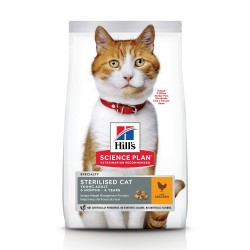 Hill's Science Plan Young Adult Sterilised Kylling - 3 kg