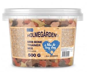 Holmegården, 500 g - Bucket mini bone trainer mix