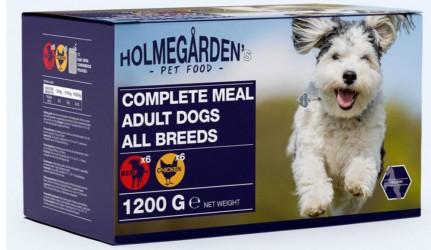Holmegården Dog Wet Food 12 x 100 g. (chicken & beef)