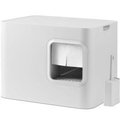 Hoopo Dome kattebakke - Hvid