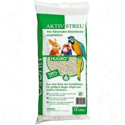 Hugro hamp-pellets - 14 l (ca. 6 kg)
