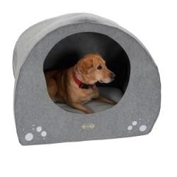 Hunde-wigwam af filt - L 71 cm x B 54 cm x H 57 cm