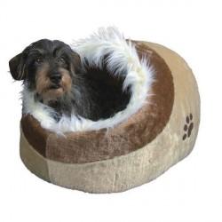 Hundehule model Minou, beige/brun Small