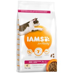 Iams kattefoder - Pro Active Health Mature & Senior - Kylling