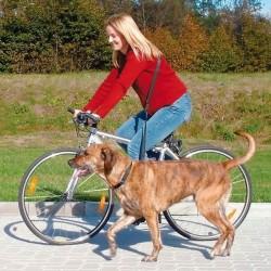 Joggingline - Cykelline til hund