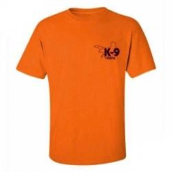 K9 T-shirt, orange, XXLarge