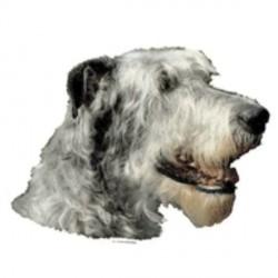 Klistermærke, Irsk Ulvehund