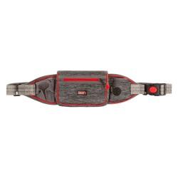 KONG OUTERWEAR bæltetaske grå Hoftevidde regulerbar 86-127cm