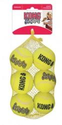 Kong SqueakAir Balls net m/6 stk. medium bolde