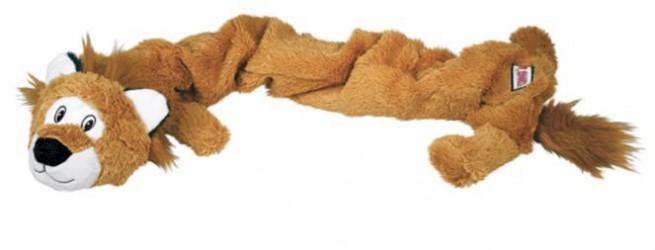 Kong Stretchezz Jumbo løve, x-large