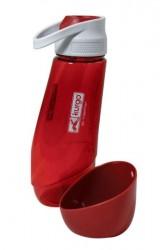 Kurgo Gourd H2O 2/1 flaske, fv. rød