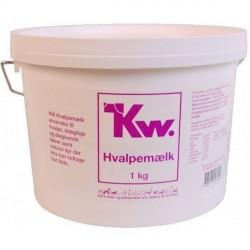 KW Hvalpemælk, 1 Kg - KORT DATO