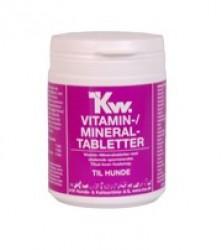 KW Vitaminpiller til hunde - 250 stk. vitamin/mineral tabletter
