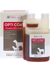Lakseolie + B-karotin - Opti Coat - 250 ml