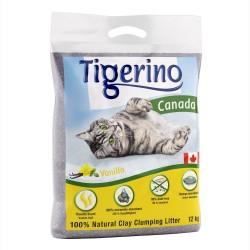 Limited Edition: Tigerino Canada Kattegrus - Vaniljeduft - Økonomipakke: 2 x 12 kg