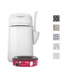 LitterLocker® Fashion skraldespand til kattegrus - Økonomipakke: refill kassette x 3