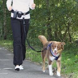 Løbesele - joggingline til hund - håndfri