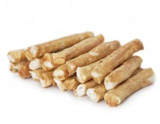 LOW FAT Chicken rolls - 20 stk. Oksehud med kyllingebryst - Ø 2 cm