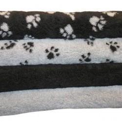 Luksus Vetbed hundetæppe, sort 100 x 150 cm