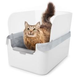 Modkat Flip kattetoilet Gruspose 3 stk. - gammel version med kroge kat