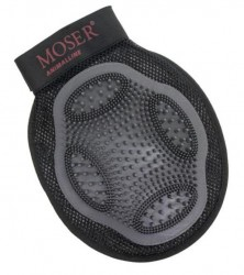 Moser Grooming Glove - handske med gummibørste