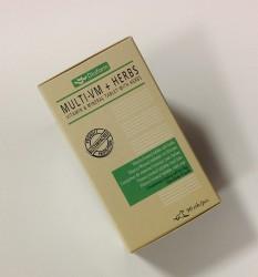 Multi vitamin og mineraltablet med urter - 90 stk.